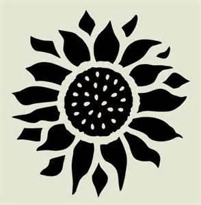 sun flower template 7 quot sunflower stencil sunflowers flower flowers stencils