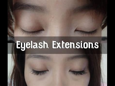 eye lash extension for old asian women korean eyelash extensions youtube