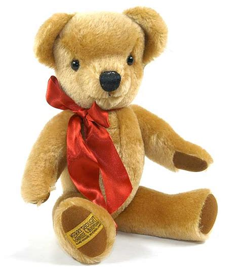 Merrythought Wish merrythought gold 16 inch teddy