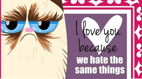 grumpy cat valentines day grumpy cat cards for that special someone