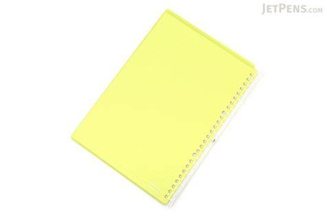 Binder Polos B5 Ring26 kokuyo cus smart ring binder notebook b5 26 rings yellow green jetpens