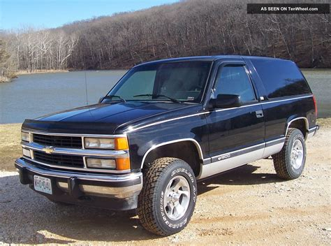 2 Door Blazer by 1994 2 Door Blazer Silverado Tahoe