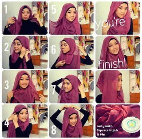gambar tutorial hijab segitiga paris gambar tutorial hijab paris tutorial cara memakai hijab