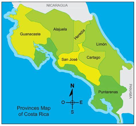 imagenes satelitales costa rica mapa de costa rica online world map
