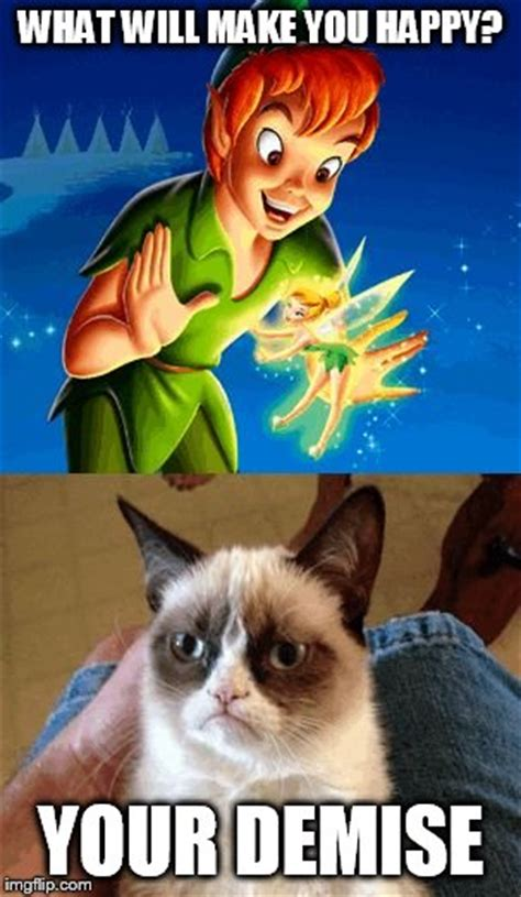 Happy Thoughts Meme - grumpy cat does not believe meme imgflip