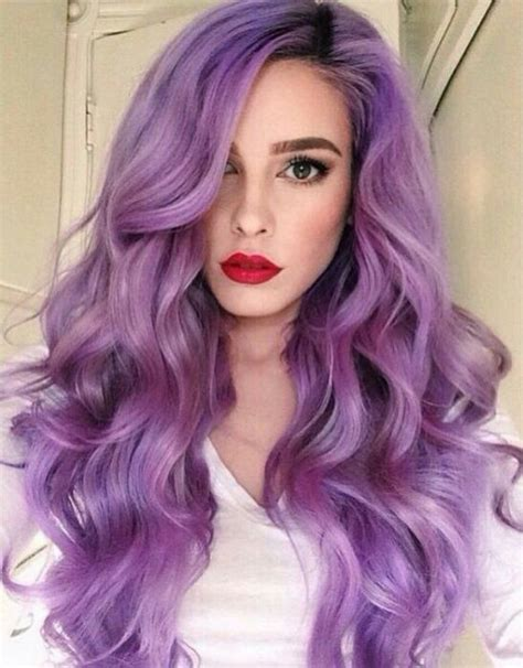 black and white color hairstyles beautiful girl hair hair color purple image 4853387
