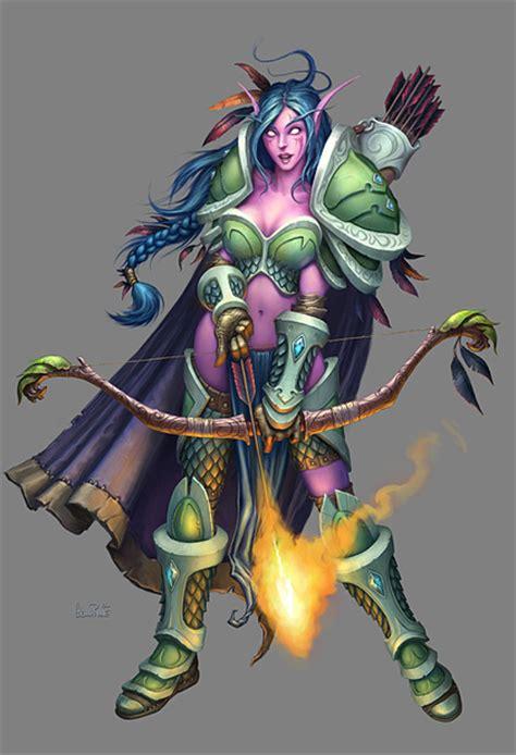 Exaggerated Elves wow elves vs tolkien elves page 3 spacebattles forums
