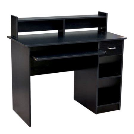 Walmart Desk Accessories Homegear Home Office 41 Computer Desk Black Walmart
