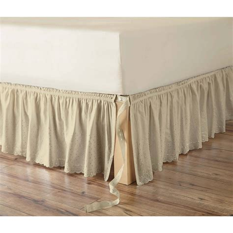 detachable bed skirts detachable bed skirts tips cablecarchic interior design