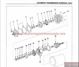 Isuzu Gearbox Manual Isuzu N Series Automatic Transmission 450 43le Workshop