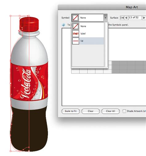 tutorial illustrator bottle working with 3d objects and transparencies to make a