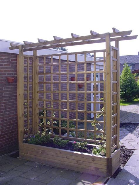Large Trellis Trellis Planters Large Woodworking Projects Plans