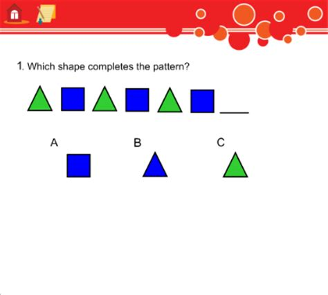 simple pattern questions smart exchange usa complete a simple pattern what