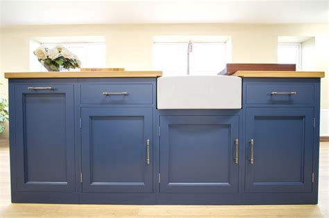 Built In Laundry Cabinets by The Stiffkey Blue In Frame Kitchen Transitional
