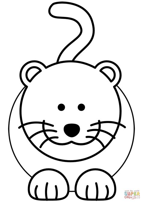 coloring pages of cartoon cats cartoon cat coloring page free printable coloring pages