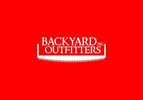 backyard outfitters inc logo graphic design