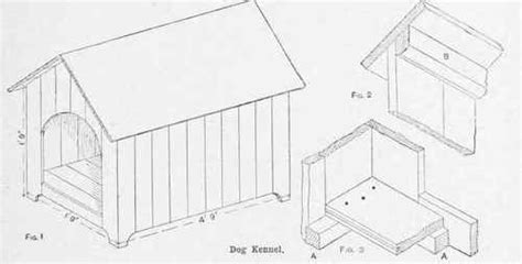 building a kennel how to draw kennel