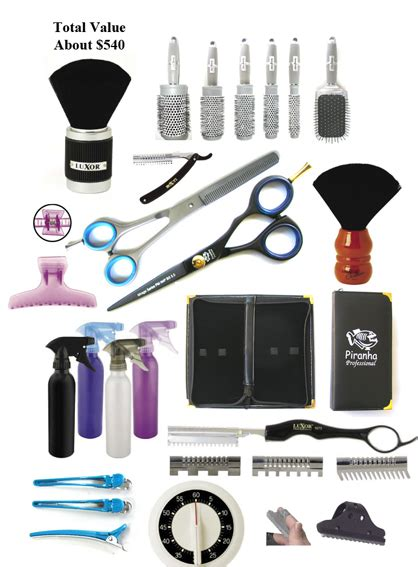 Hairstyle Tools Name by Hairdressing Tool Kit An Ideal Start To A Hairdessing
