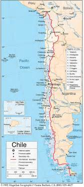map of chile south america south american adventure