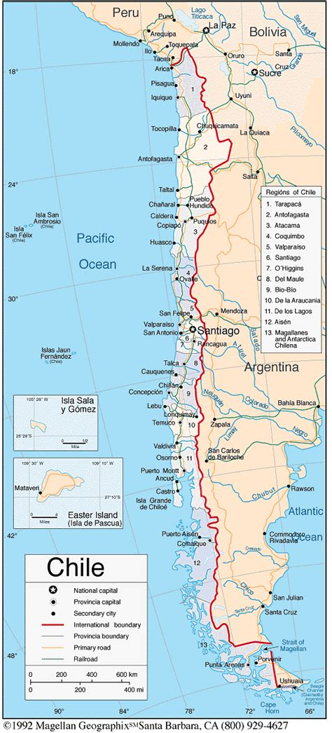south america map chile map of central chile pictures to pin on pinsdaddy