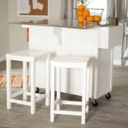 kitchen islands with breakfast bar and stools home design ideas portable carts microwave butcher
