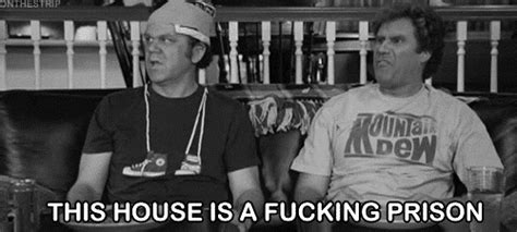 step brothers this house is a prison sarcastic will ferrell gif find share on giphy