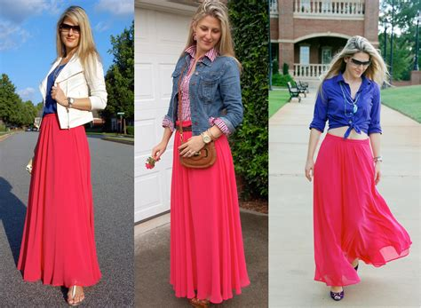 maxi skirts and dresses with denim jackets maxi skirt