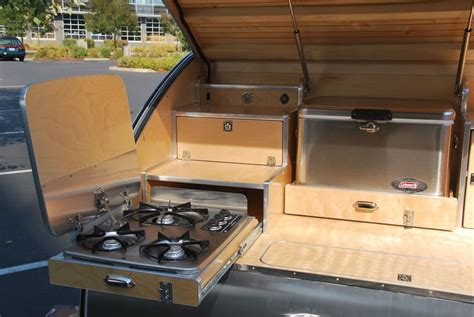 teardrop trailers hitch a tiny kitchen to your car the kitchn 15 small cer trailers with which to enjoy the outdoors