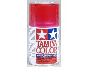 spray paint in 37 seconds tamiya ps 37 translucent polycarbonate spray paint