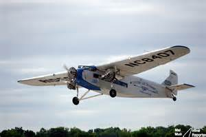 flying on a vintage ford tri motor for the time