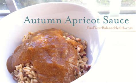 Sugar Detox Recipes Vegan by Autumn Apricot Sauce Processed Sugar Free Detox Recipe