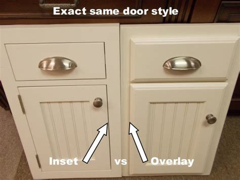inset vs overlay cabinets inset kitchen cabinets beaded inset vs plain inset