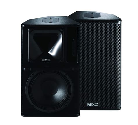 Speaker Nexo ps10 r2 multi function loudspeaker