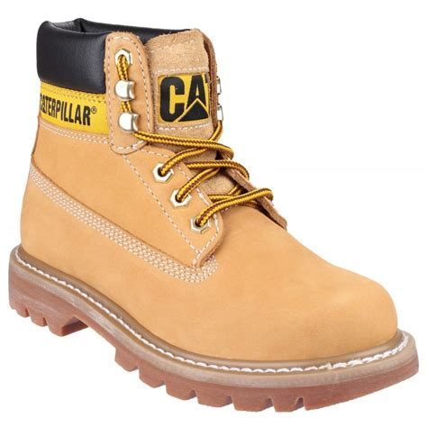 Caterpillar Colorado Lace Up Honey Reset Boots Shoes Co Uk
