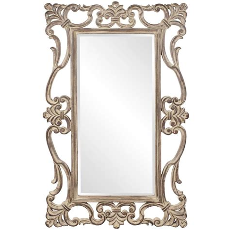 designer mirrors ornament designer mirror in tuscan brown hre 110 accent