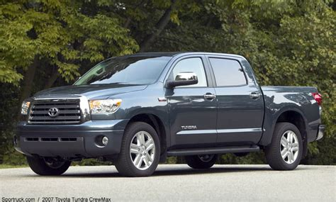 2007 Toyota Tundra Crewmax 2007 Toyota Tundra Crewmax Pictures And Information