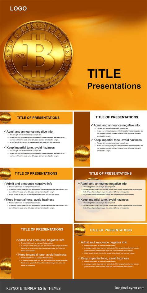 Coin Bitcoin Keynote Templates Imaginelayout Com Bitcoin Powerpoint Template