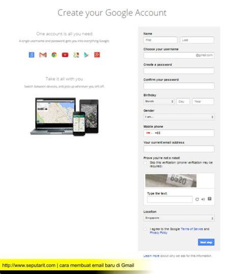 cara mudah membuat email google dengan cepat cara membuat email gmail terbaru dengan mudah dan cepat