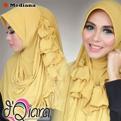 hatma fashion pasmina instan mediana by d qiara