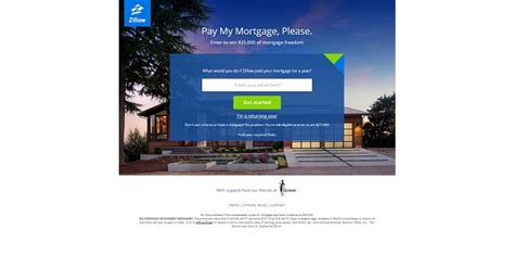 Mortgage Sweepstakes - zillow pay my mortgage please sweepstakes win 25 000 of mortgage freedom
