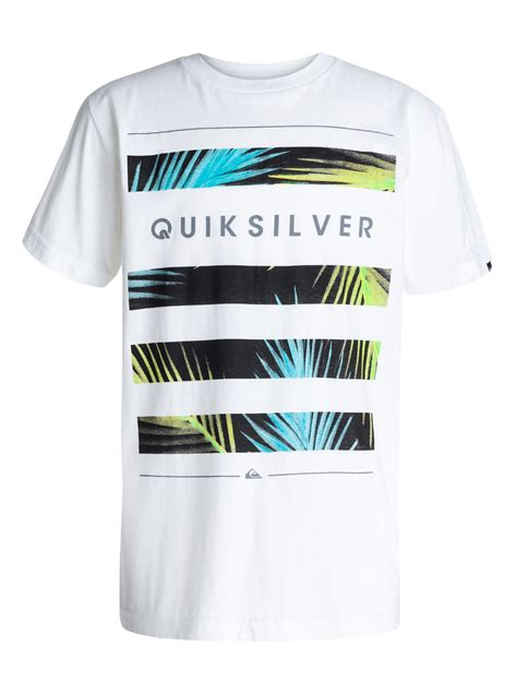 Kaos Quiksilver Premium 16 boys 8 16 shelter t shirt 40464113 quiksilver