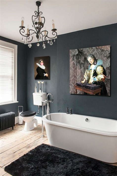quel tableau decoratif pour  mur sombre blog izoa