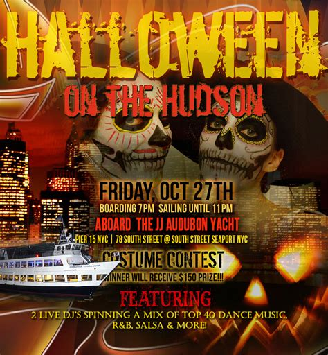halloween boat cruise nyc halloween on the hudson dance cruise nyc boat party south