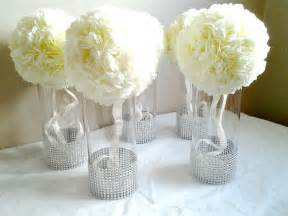 Tall Decorative Vases Cheap Centerpiece Cylinder Vases Silver Bling Vases Wedding