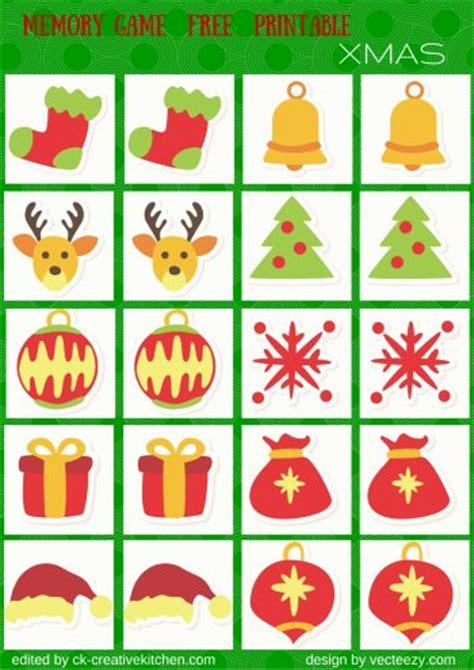 free printable christmas memory games holidays memory game free printables creative kitchen