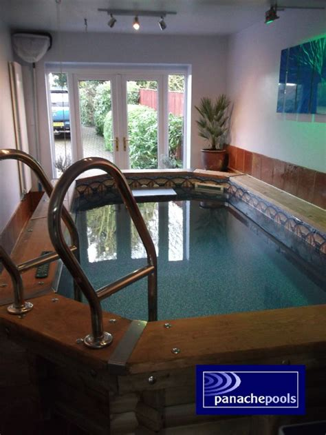 Garage Swimming Pool by An Endless Exercise Pool At Home Panache Pools