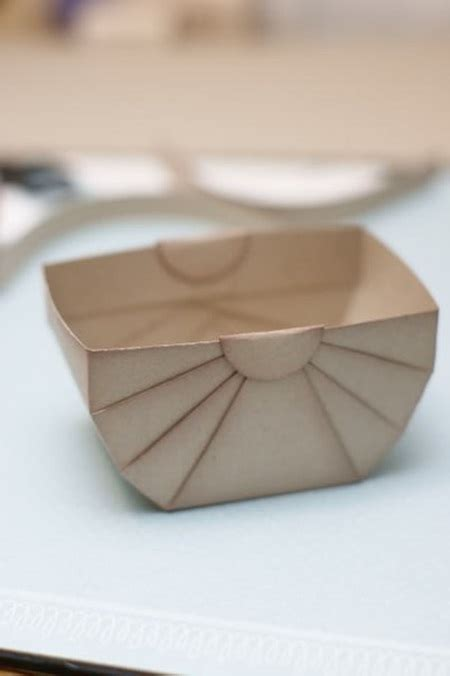 diy paper storage  gift basket