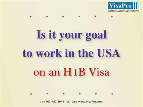 Mba On H1b Visa by Is It Your Goal To Work In Usa On H1b Visa
