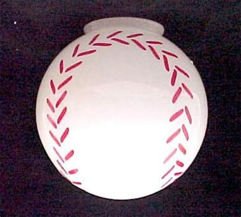 baseball ceiling light baseball ceiling fan light globe l shade 4 x 8