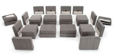 Lovesac Configurations - furniture modern puzzle pieces visual